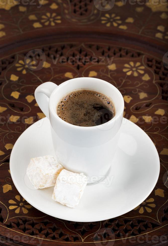 turkiskt kaffe foto