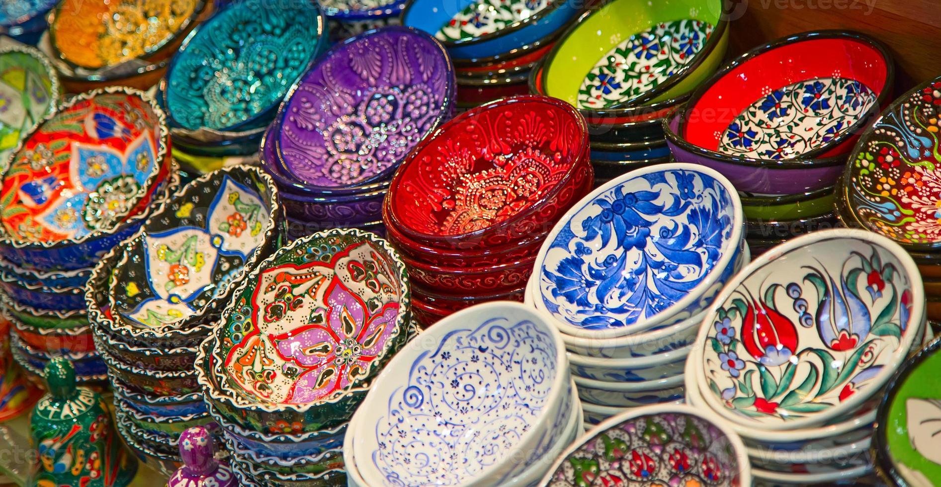 turkiska keramik foto