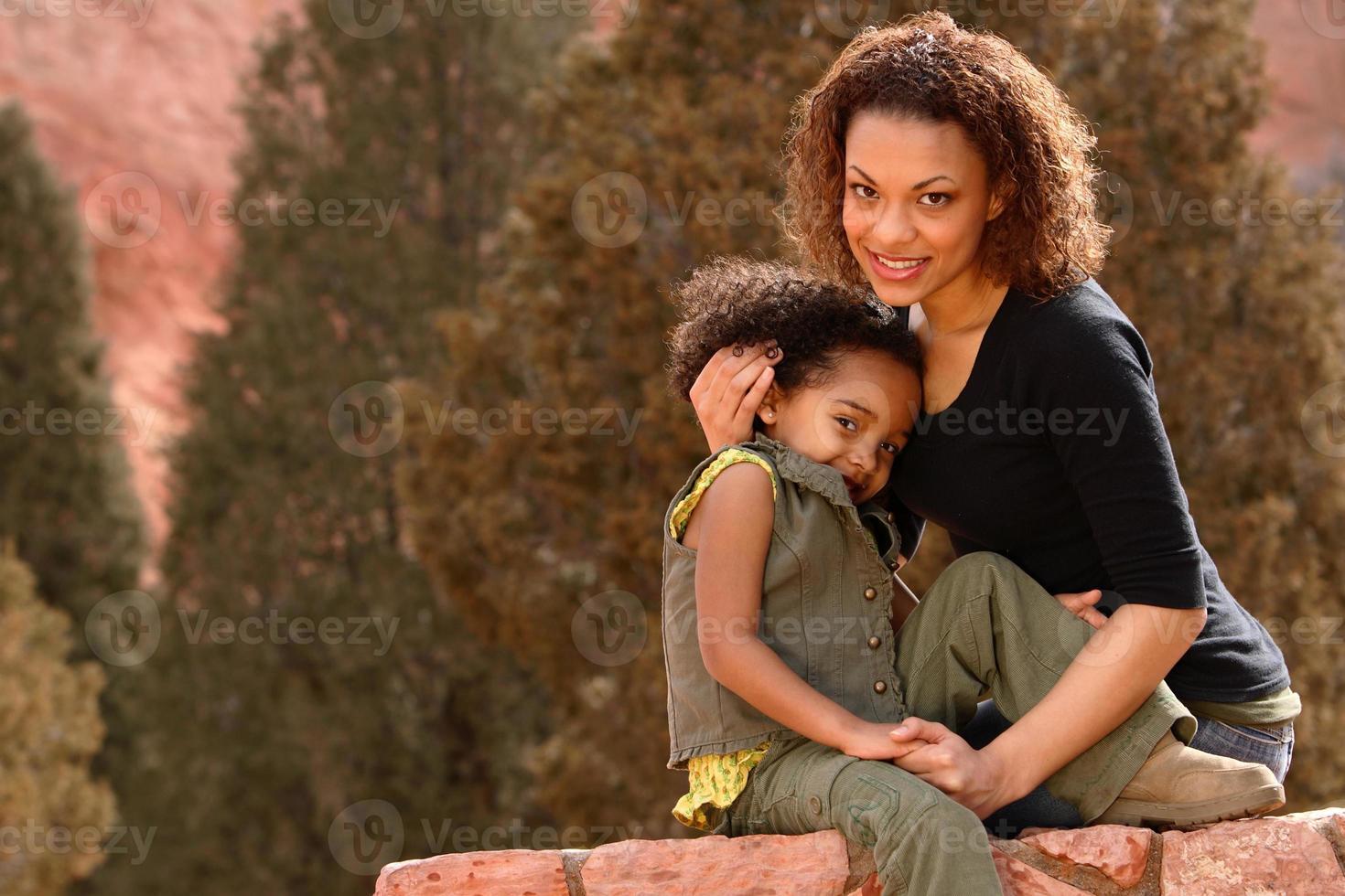 mamma & barn foto