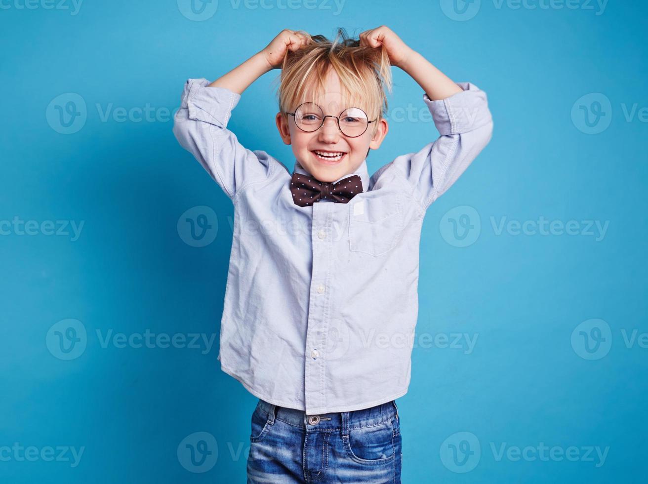 extatiskt barn foto