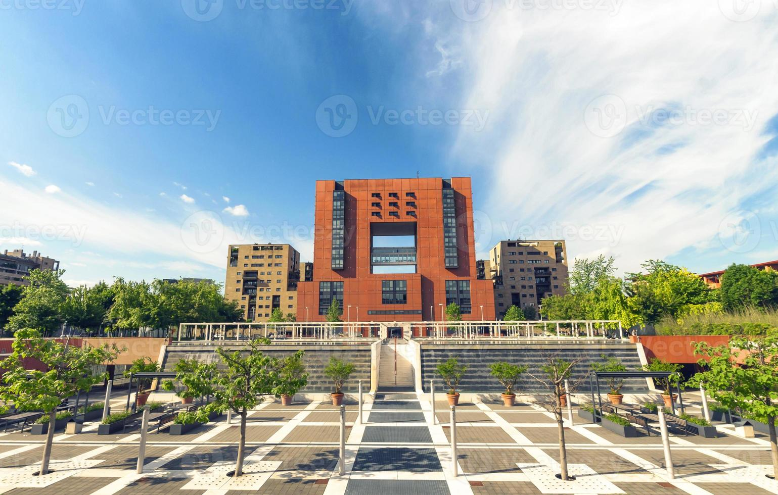 bicocca universitet, milan italy foto
