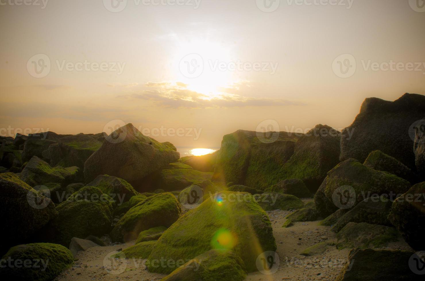 glen cove solnedgångar foto