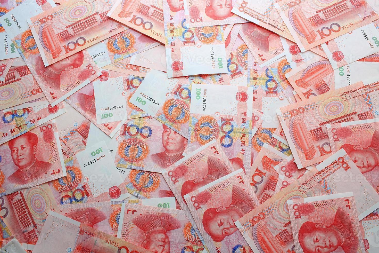 Kina pengar bakgrunder foto