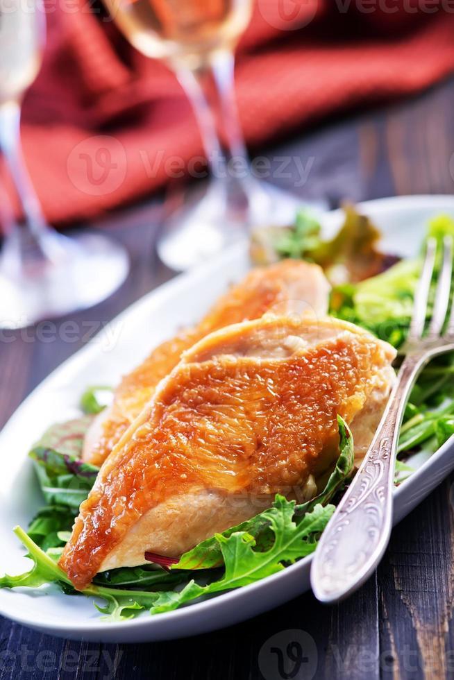 kyckling foto