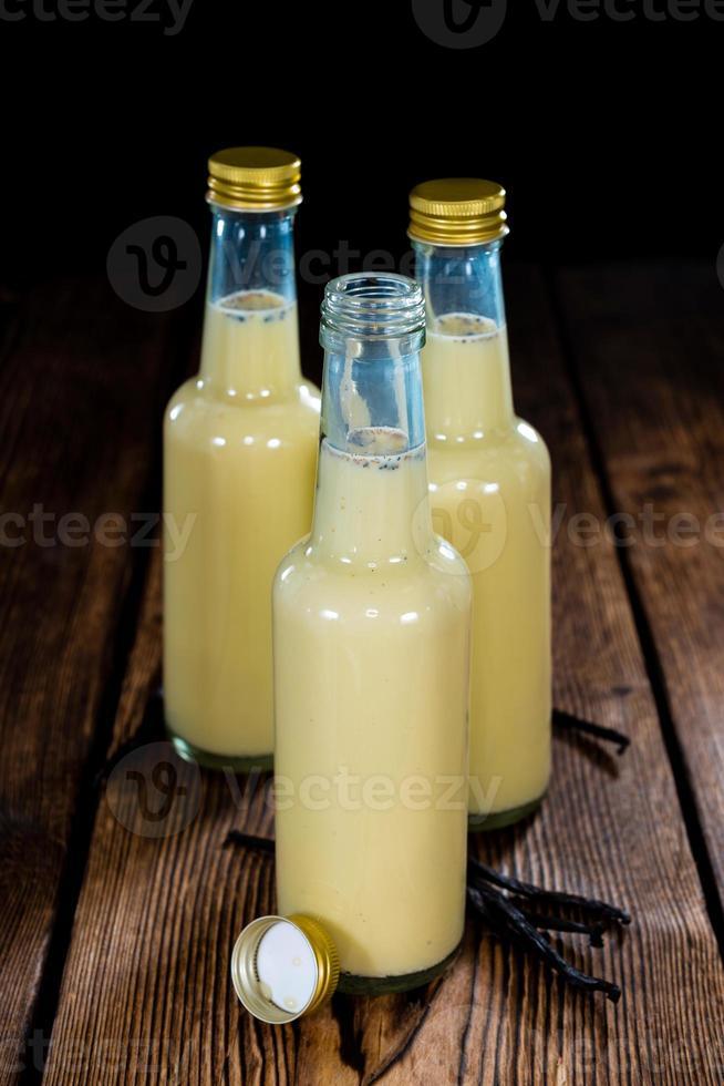 vanilj milkshake foto