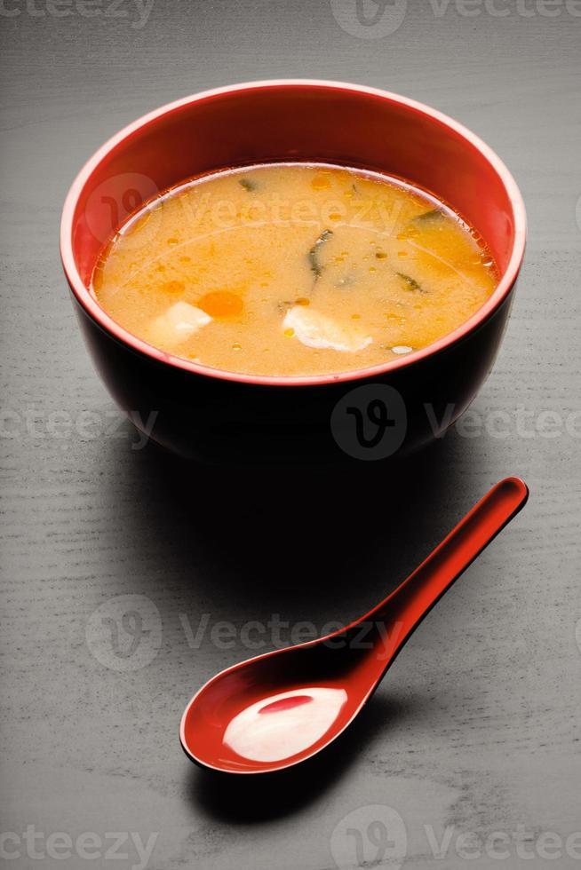 välsmakande soppa. foto