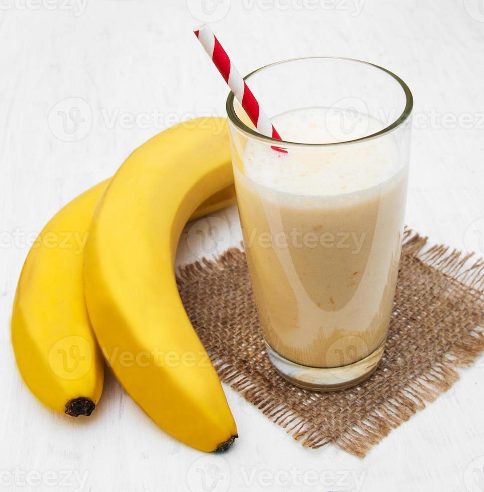 banansmoothie foto