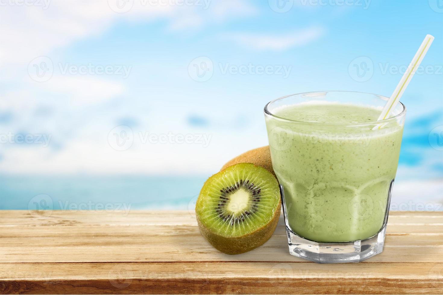smoothie, juice, frukt foto