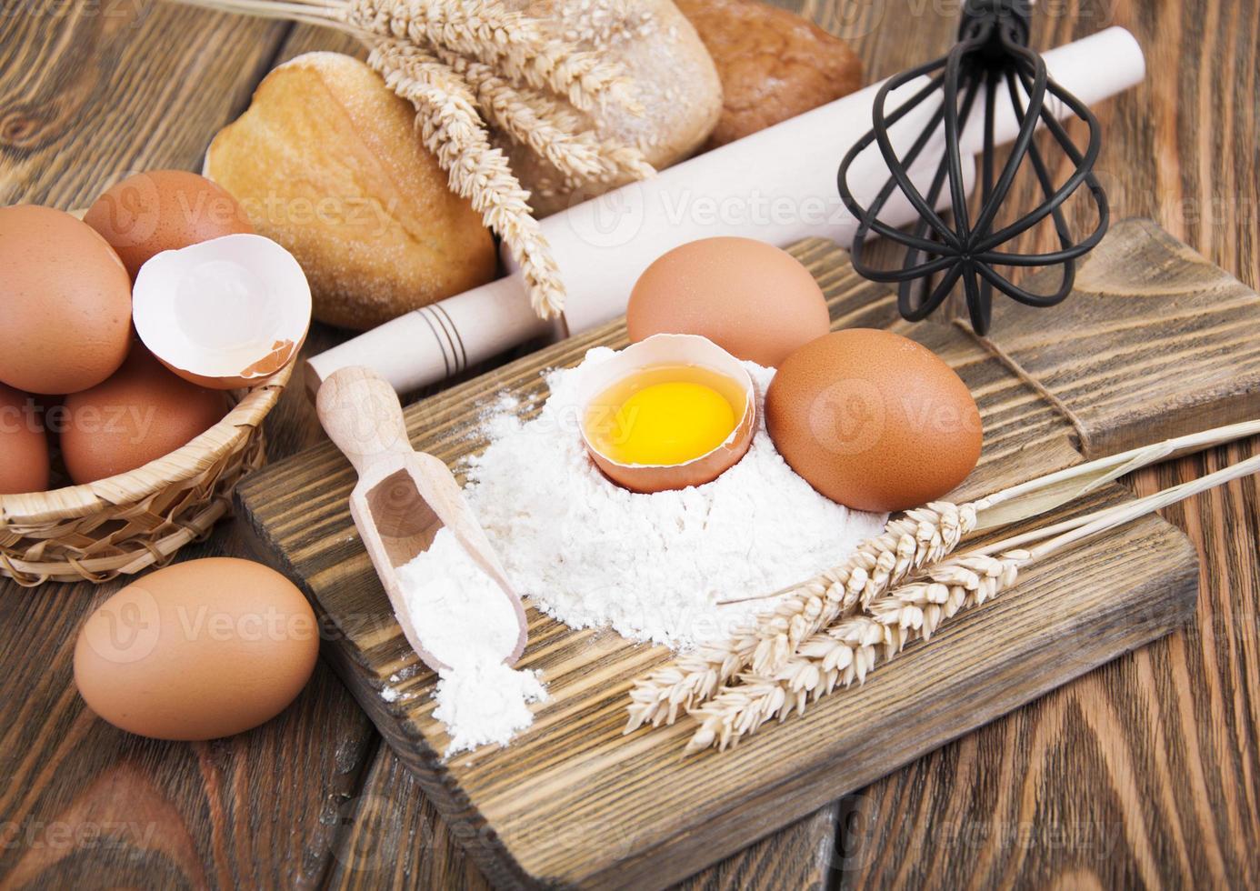 bakning ingredienser foto