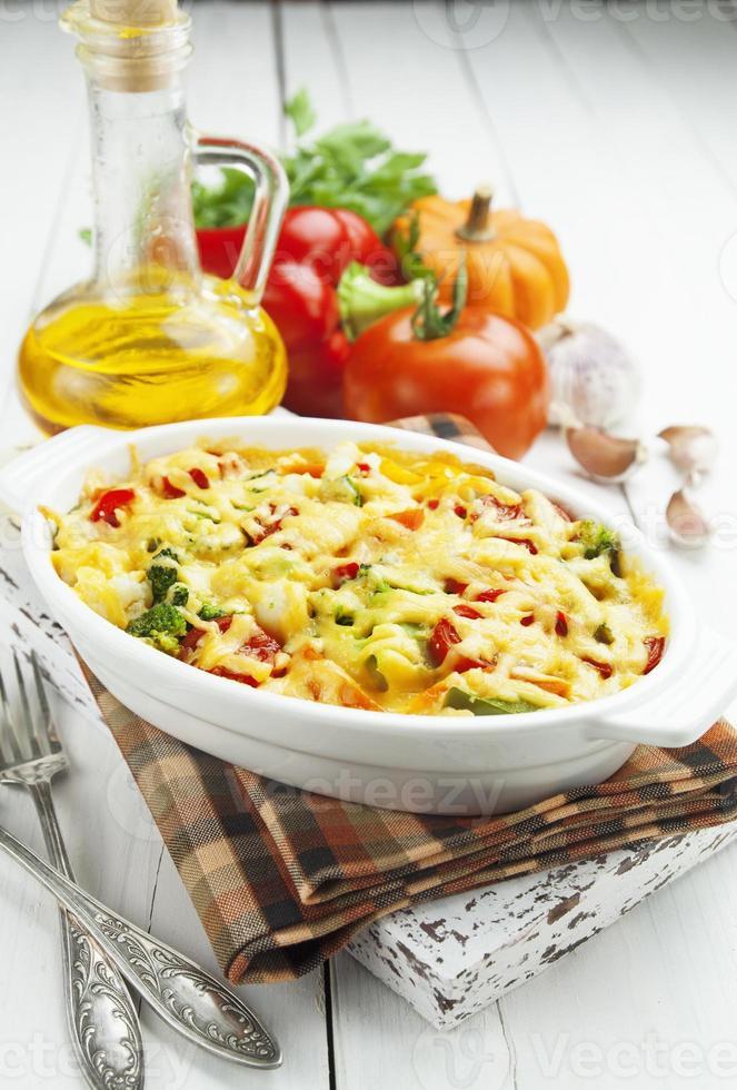 bakade grönsaker foto