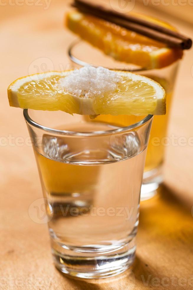 whisky och tequila foto