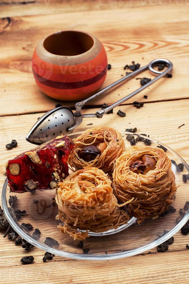 fyra kakor recept orientaliska godis foto