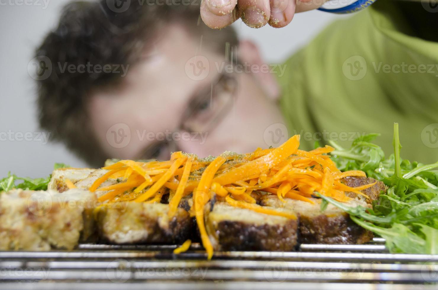 professionell kock foto