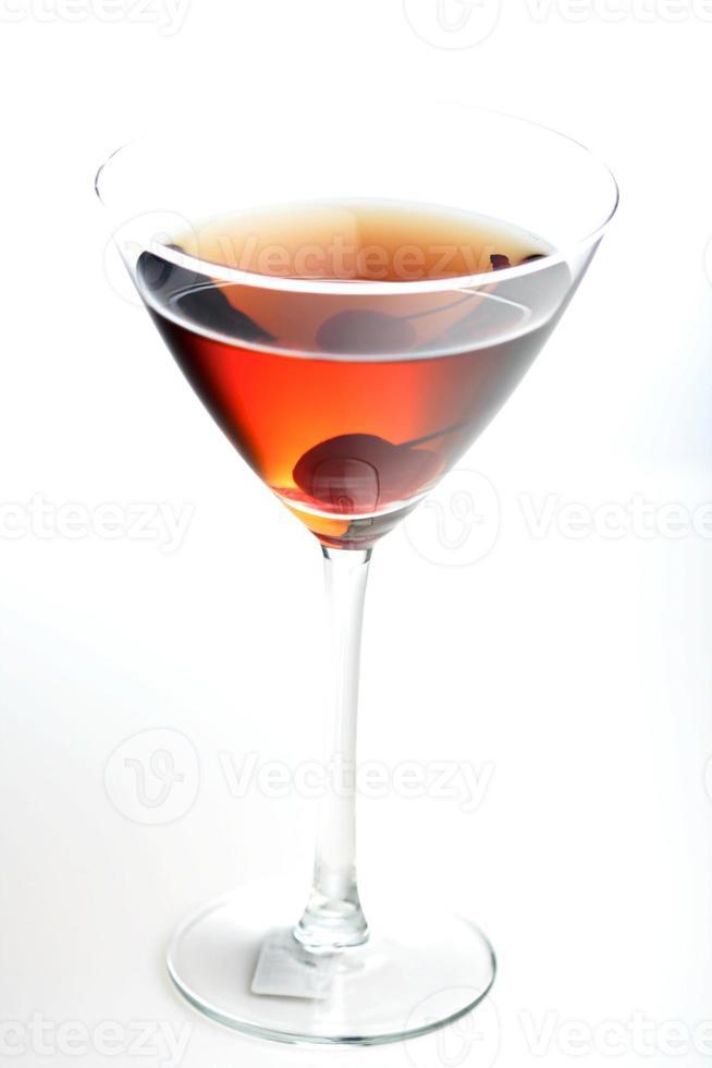 dryck i matrini-glas foto