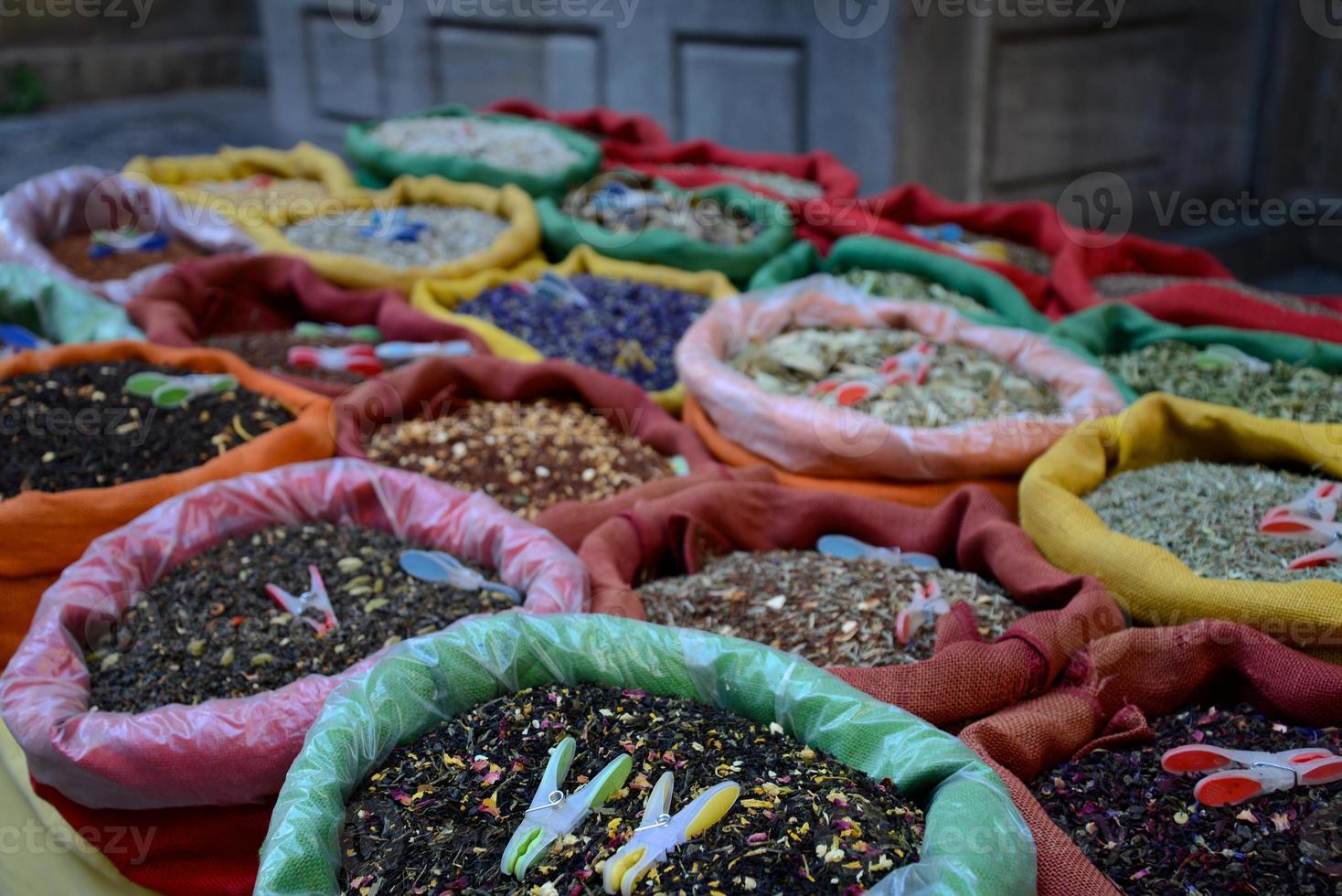 te och kryddor foto