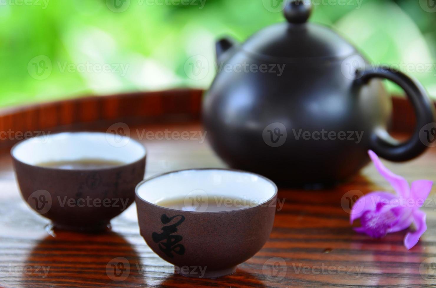 Kinesiskt té foto