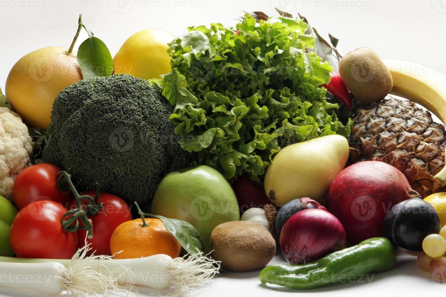 grönsak och frukt foto