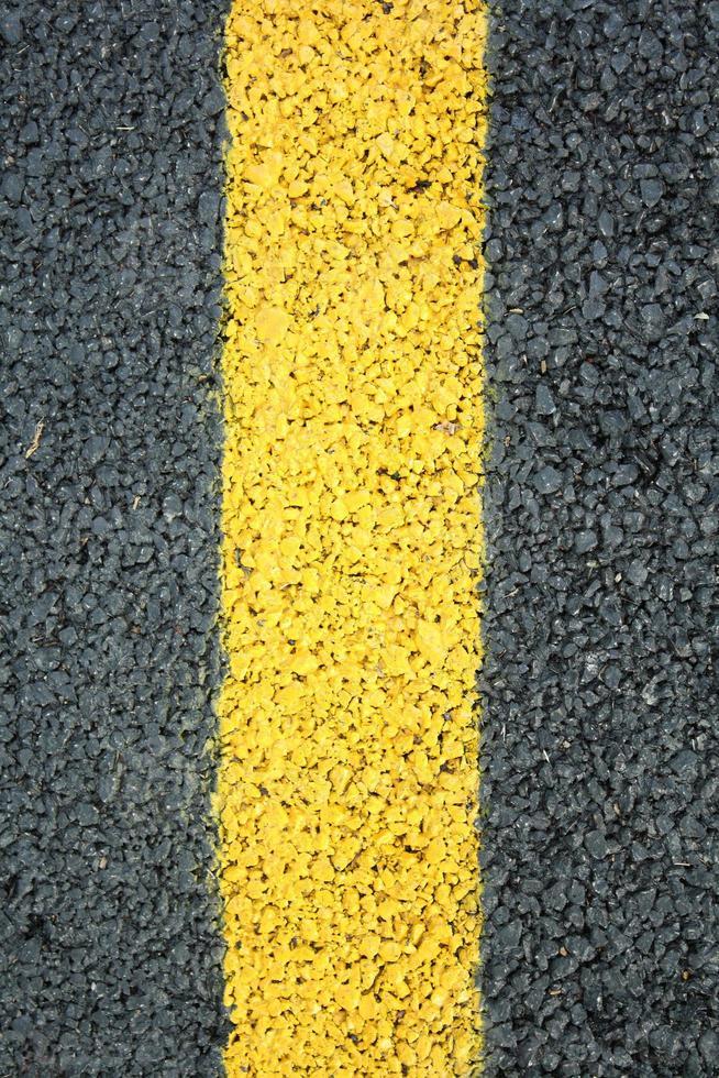 gul linje foto