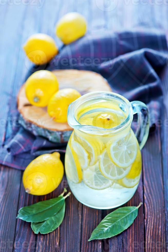 färsk limonad foto