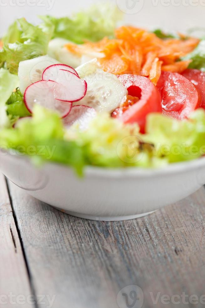 fresca insalata mista foto
