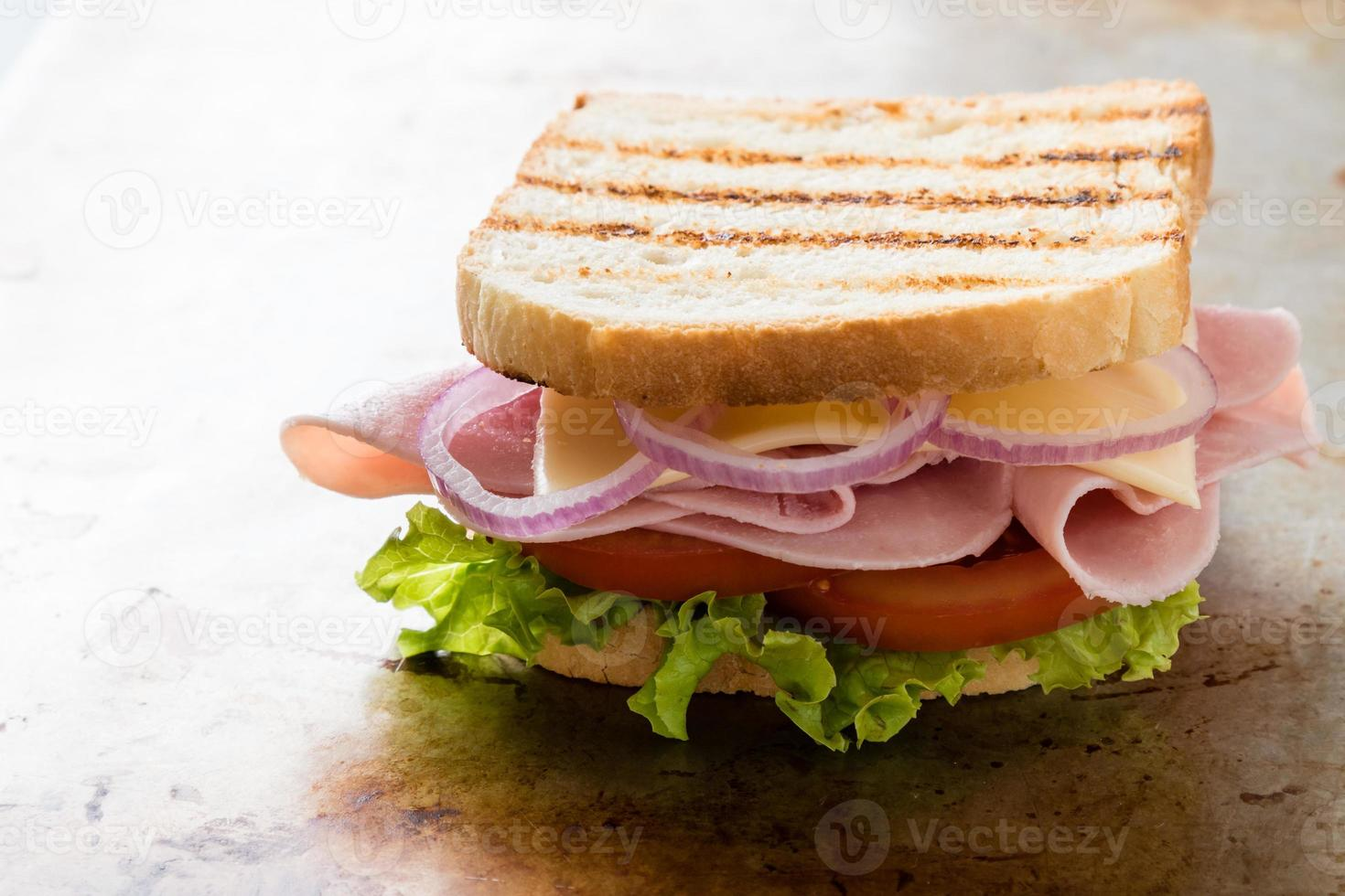 toast skinka smörgås foto