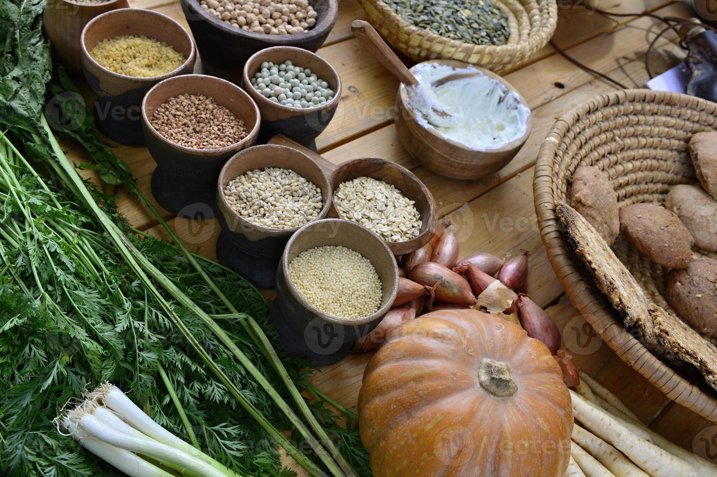 historisk mat från Tjeckien foto