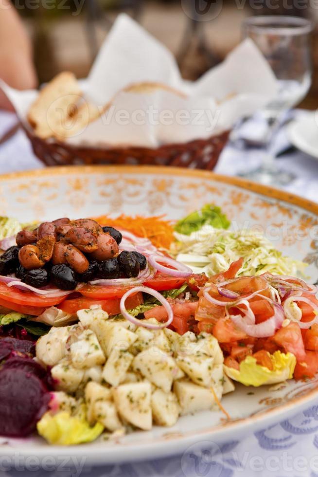 marockansk vegetabilisk tagine foto