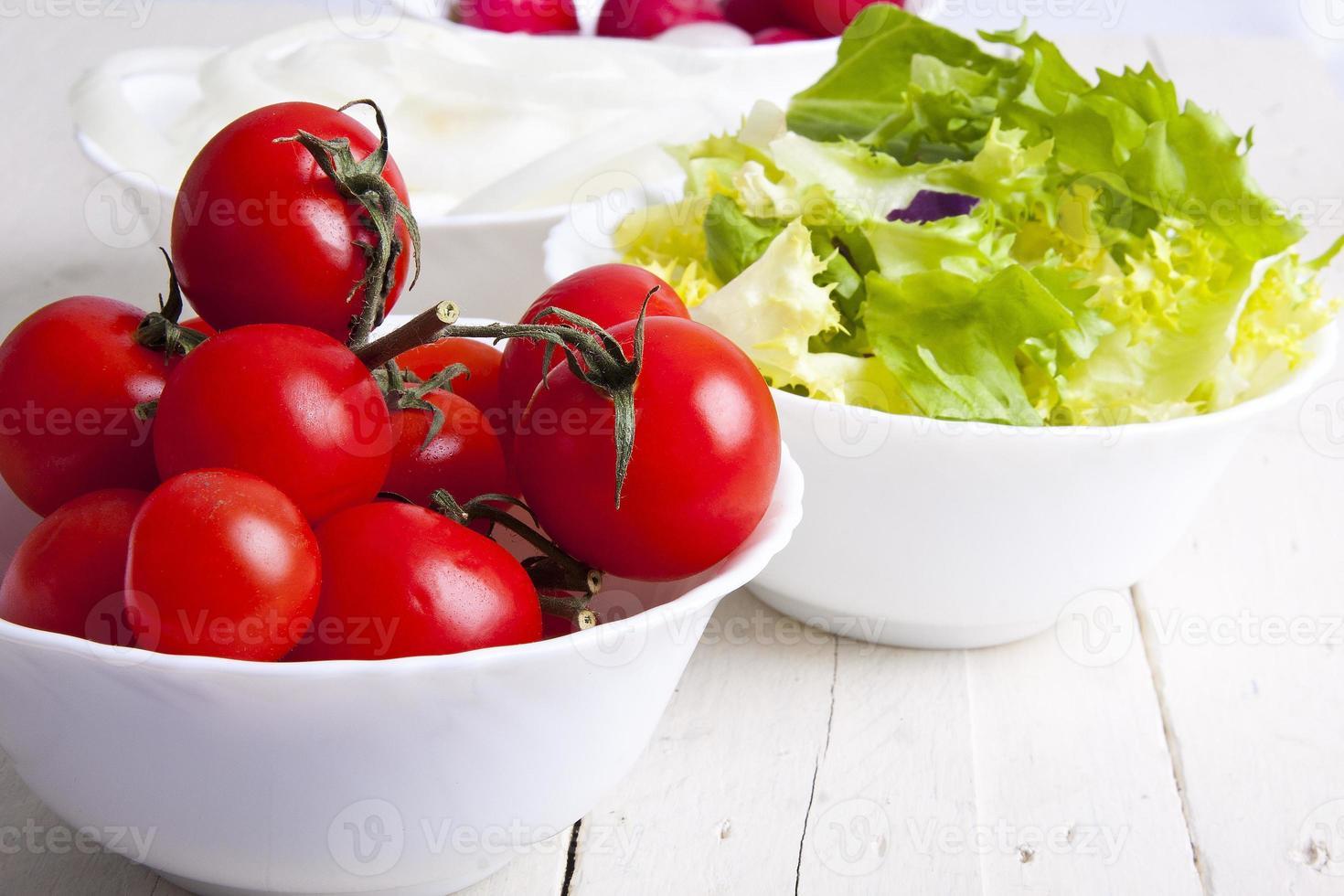 salladingredienser foto