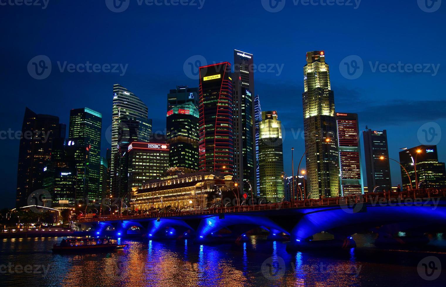 singapore river foto