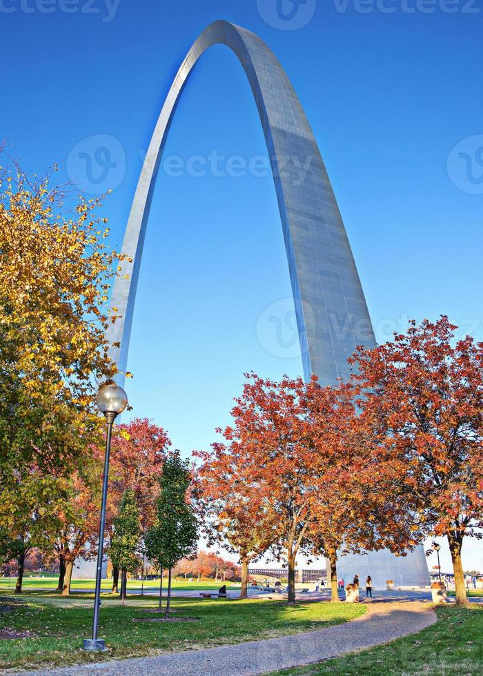 saint louis gateway arch foto