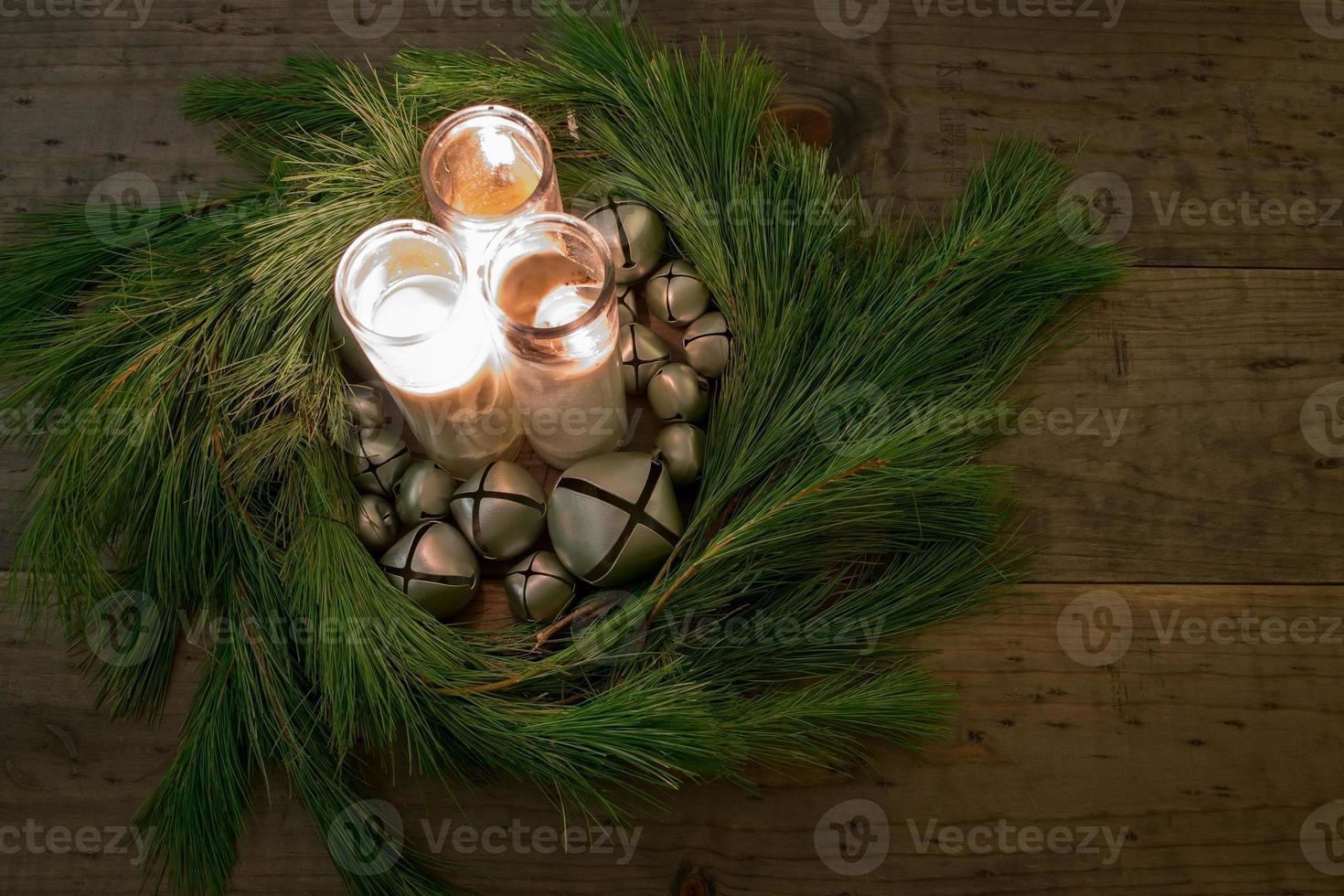 julkrans mittstycke foto
