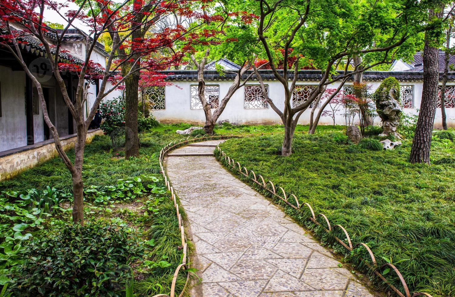 ödmjuk administratörs (zhuozheng) trädgård foto