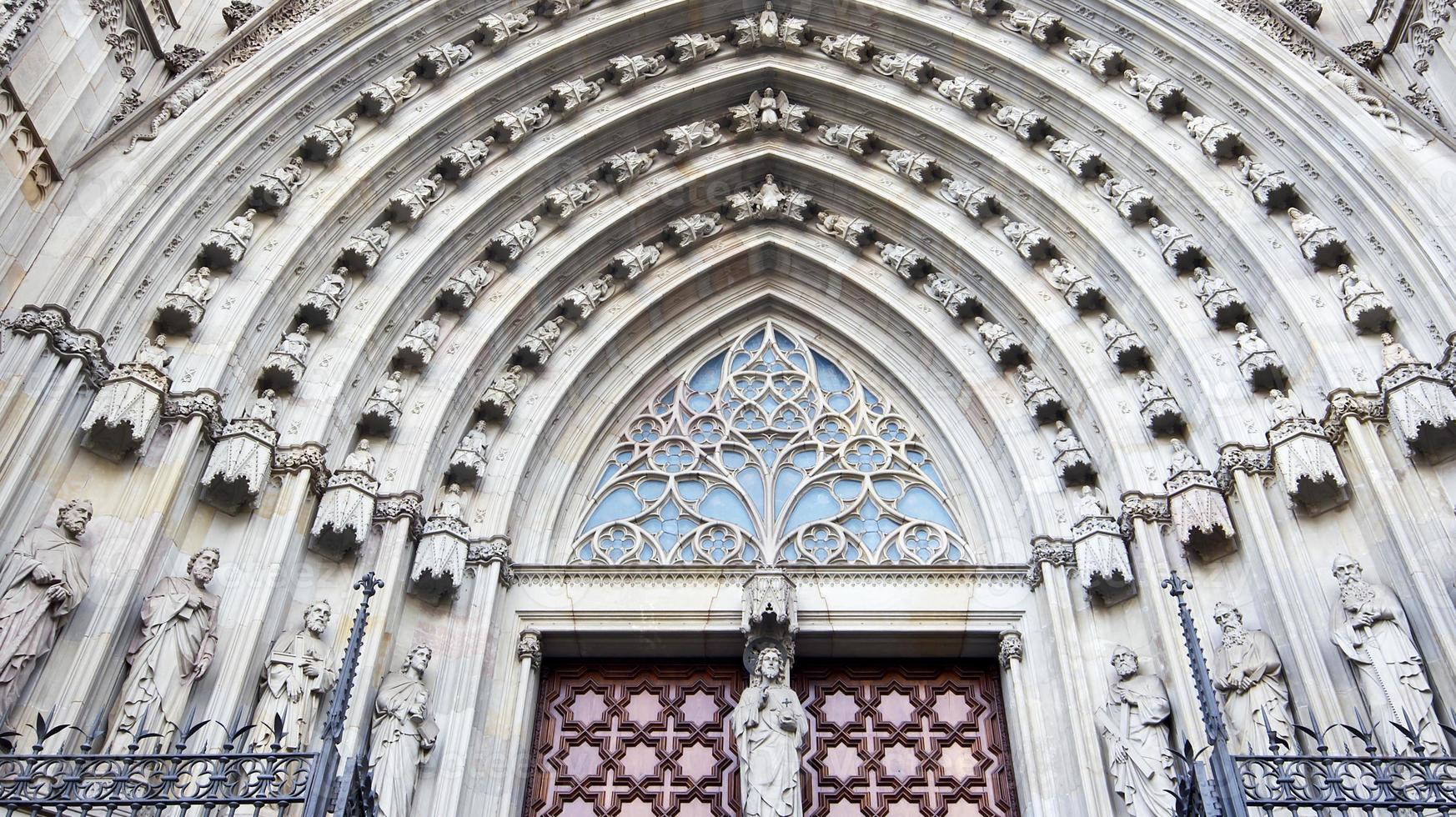katedral i barcelona foto