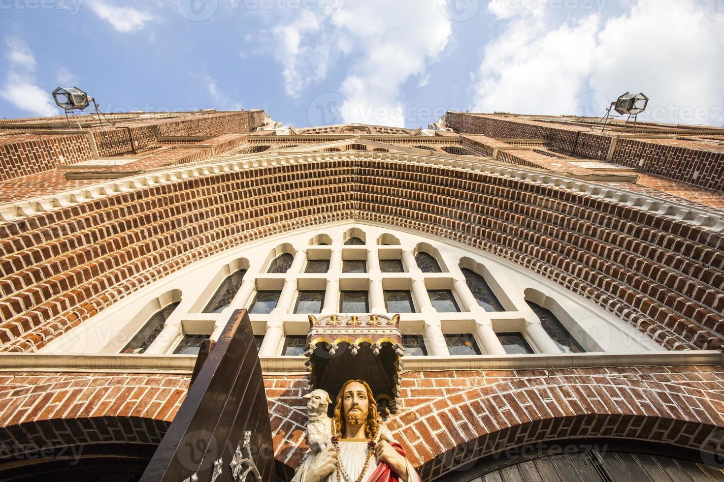 saint mary katedral. yangon. myanmar. foto
