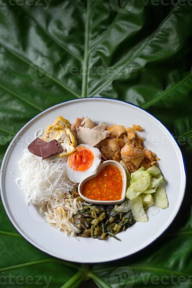 thailändsk sallad foto