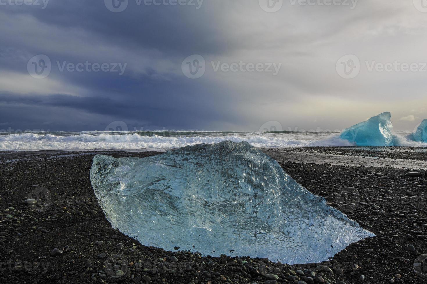 landskapet i Island foto