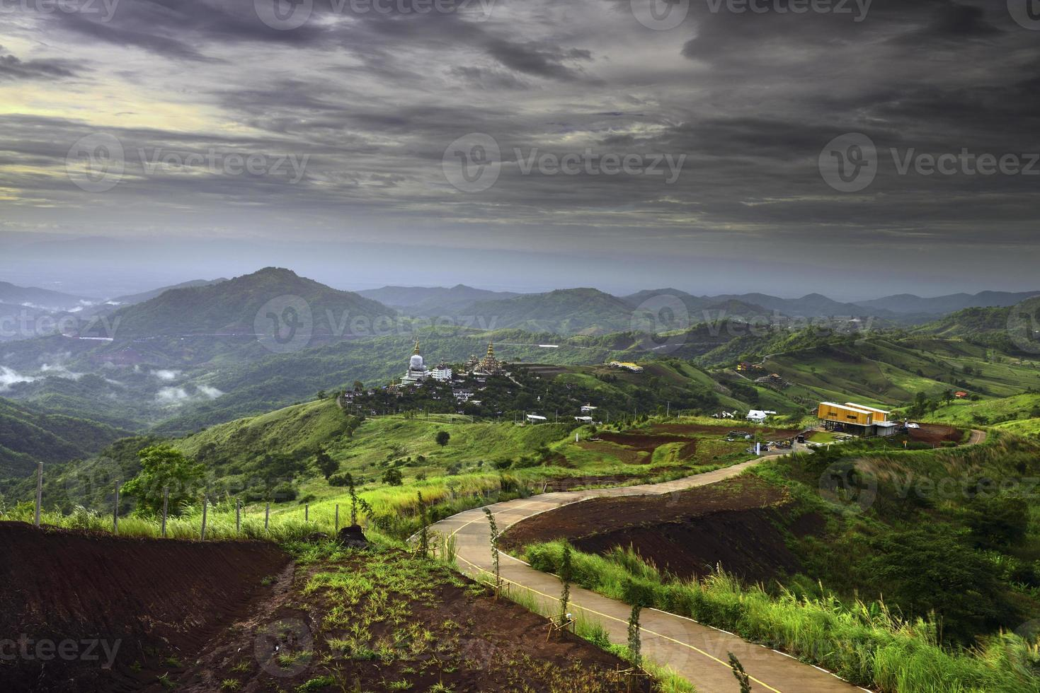 landskap khao kho thailand. foto