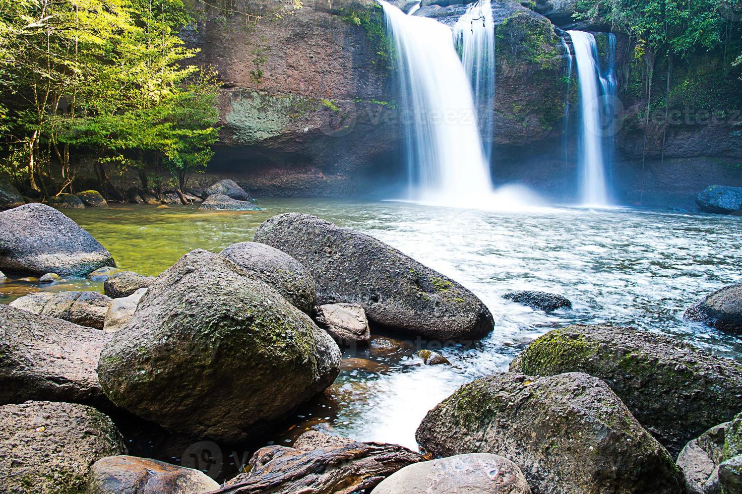 vattenfall landskap foto