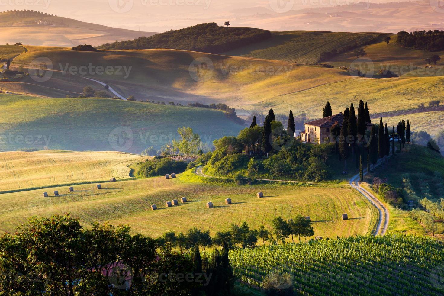 det toskanska landskapet foto