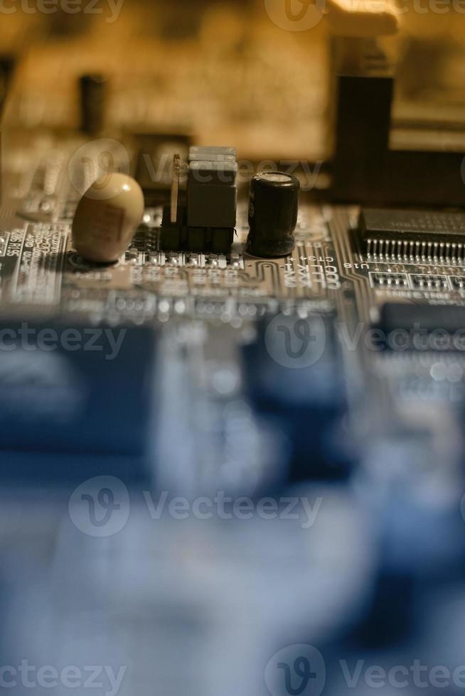 moderkort elektronik - färg foto