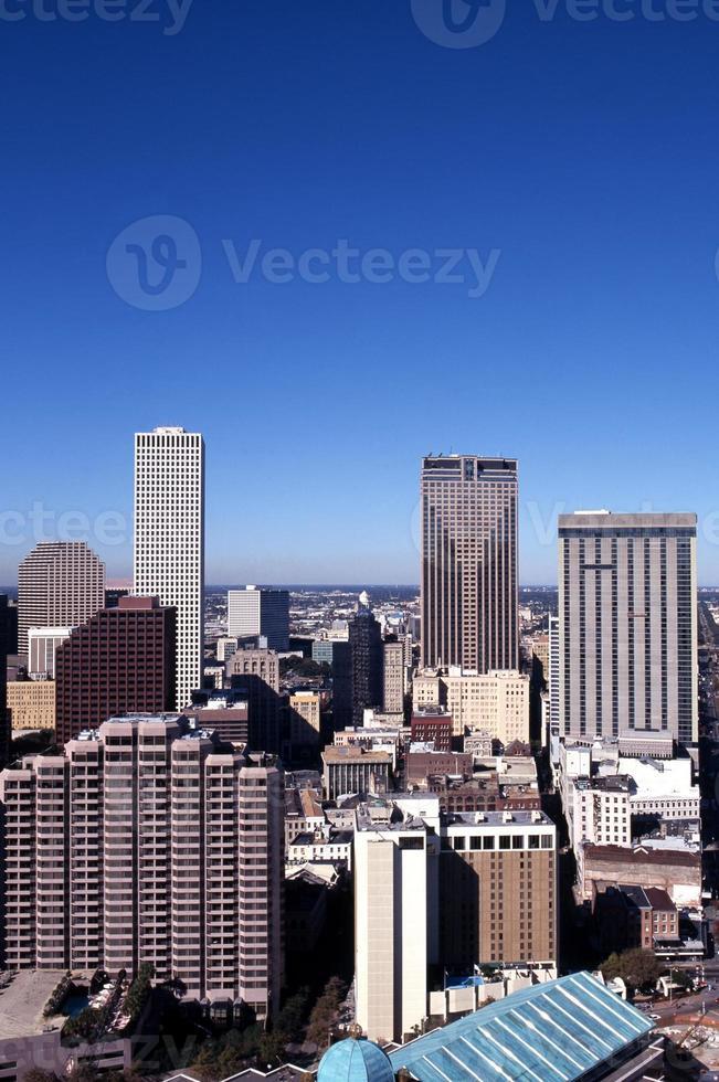 skyskrapor, nya orleans, usa. foto
