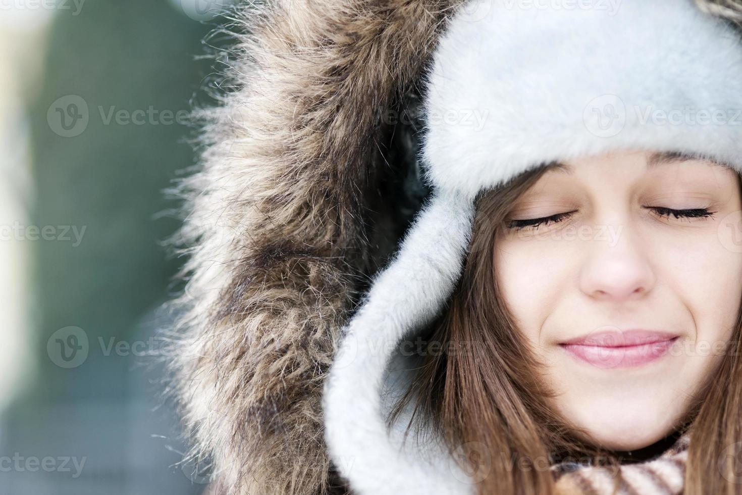 vinter skönhet foto