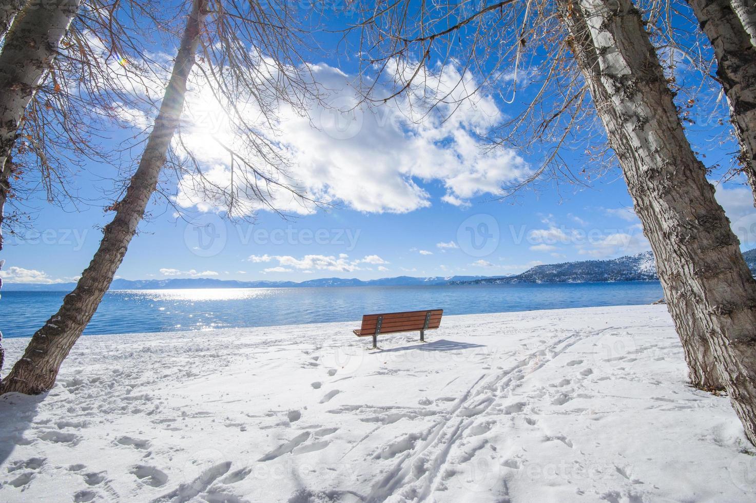 Tahoe sjön foto