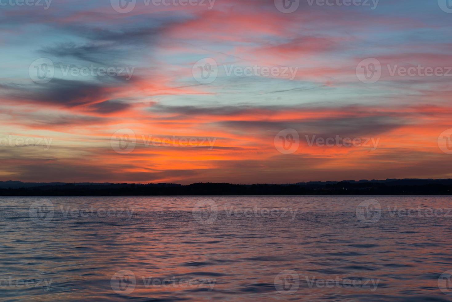 sjön Zug foto