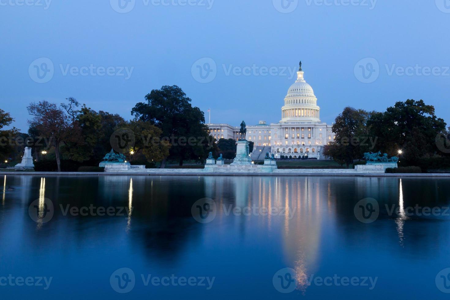 de förenade statyerna huvudstad foto