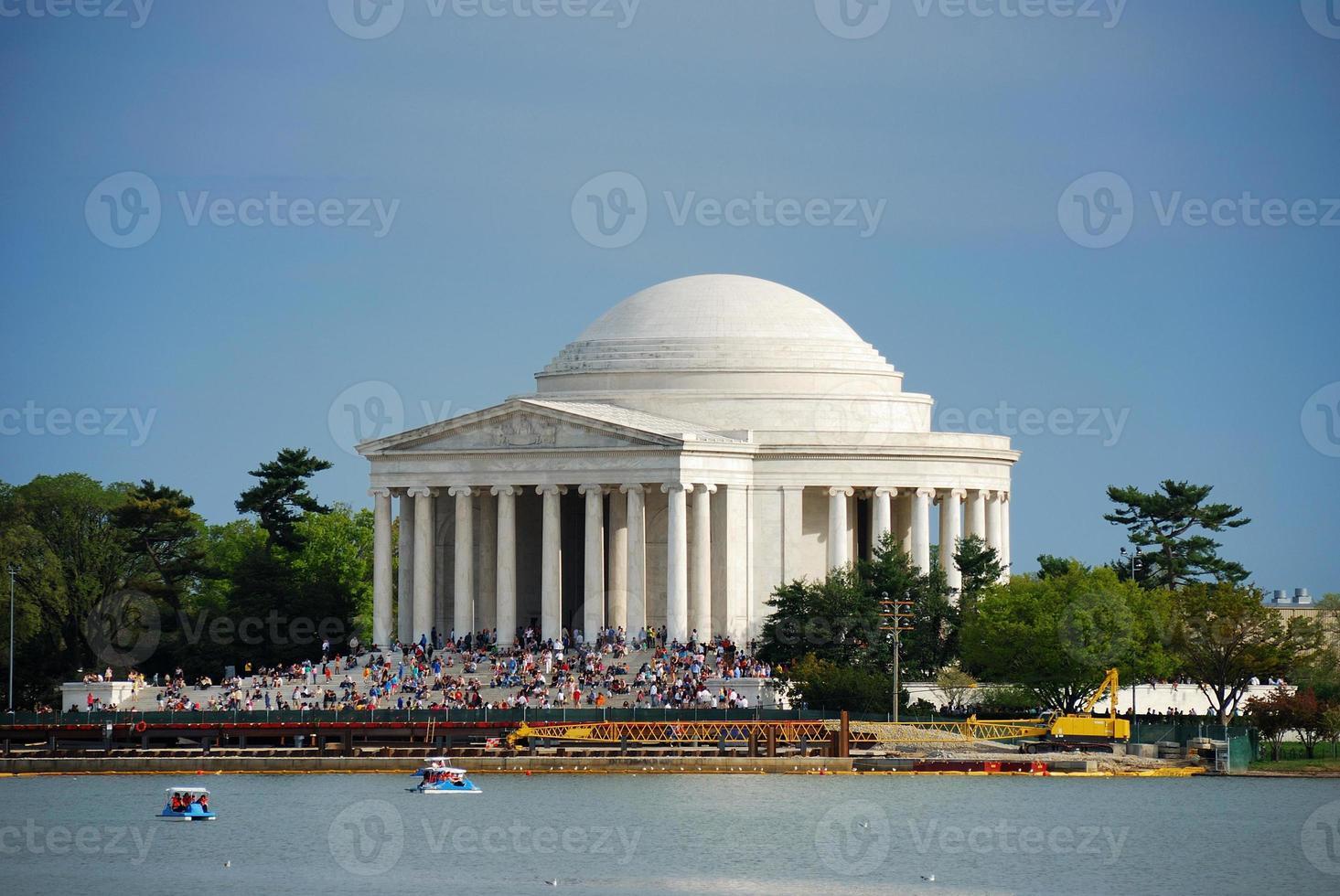 jefferson nationella minnesmärke, Washington DC foto