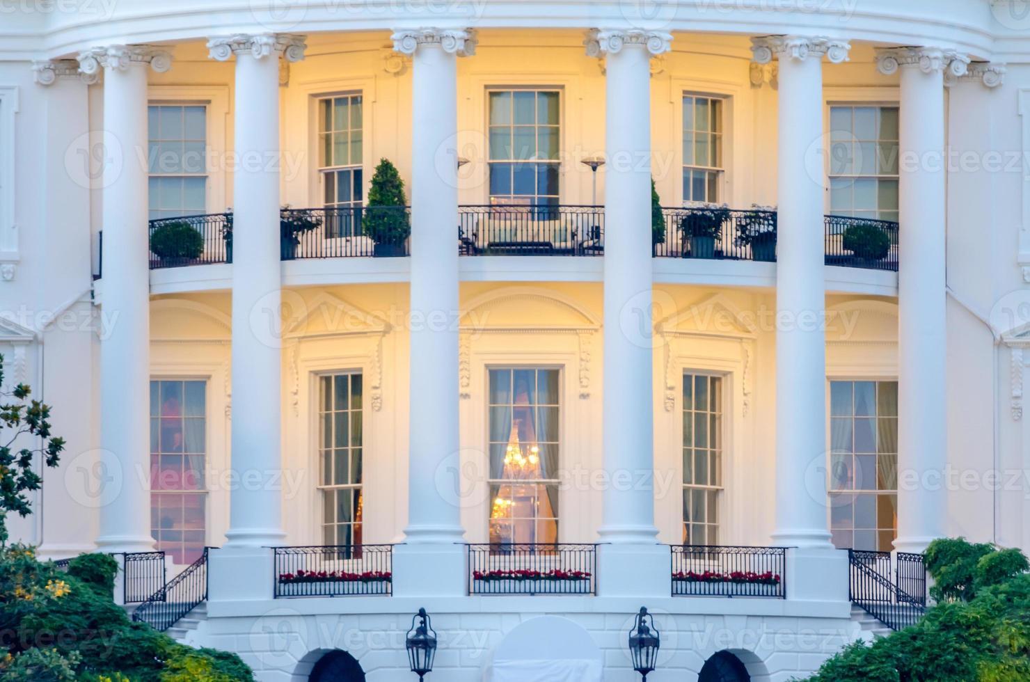 det vita huset i Washington DC foto