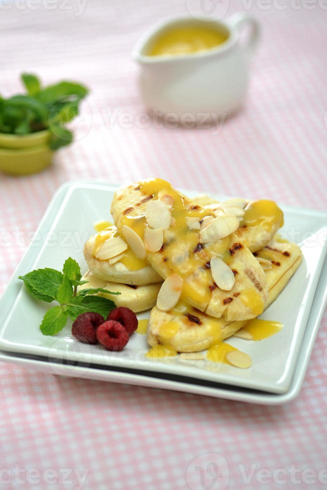 grillade bananer foto