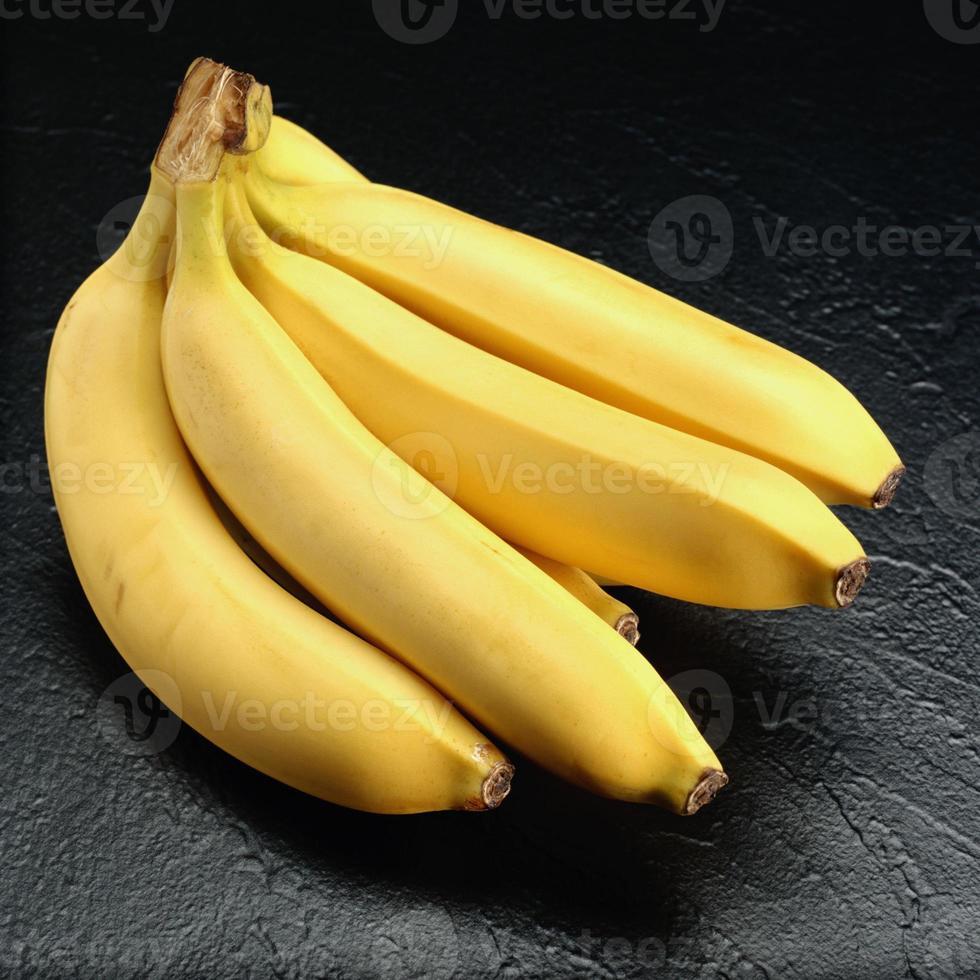 stam av bananer foto