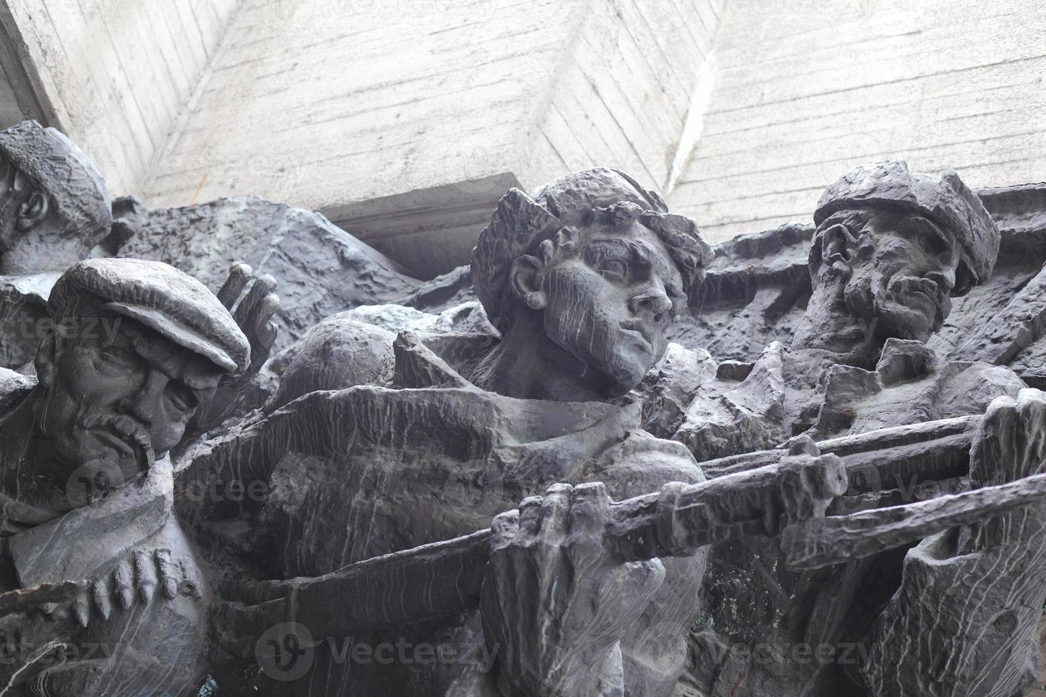 wwii-minnesmärke i Kiev, Ukraina foto